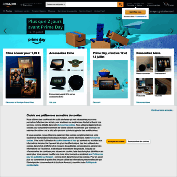 Amazon Fr At Wi Amazon Fr Livres Dvd Jeux Video