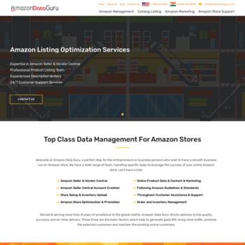 Amazondataguru.com thumbnail
