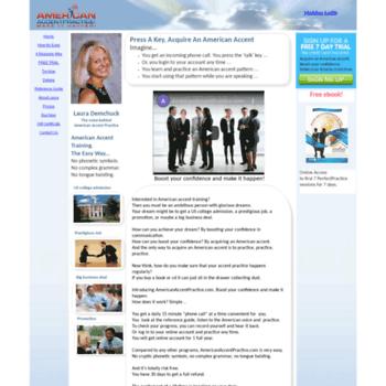 Americanaccentpractice.com thumbnail