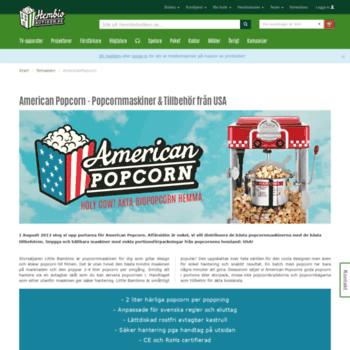 Americanpopcorn.se thumbnail