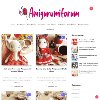Amigurumiforum.com thumbnail