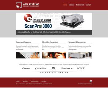 Amisystems.net thumbnail