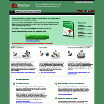 ammyy com at WI  Ammyy Admin - Free Zero-Config Remote Desktop