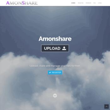 amonshare com at WI  Upload Files - Amonshare