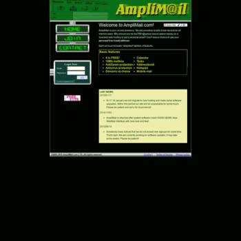 Amplimail.com thumbnail