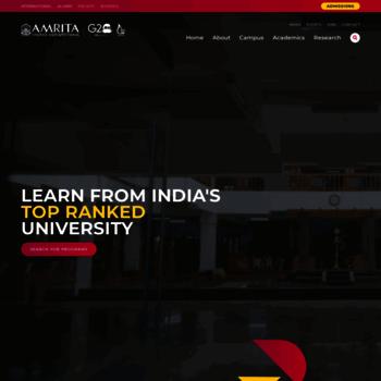 Amrita.edu thumbnail