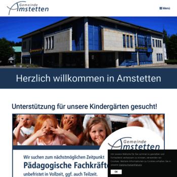 Amstetten.de thumbnail