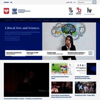 Amu.edu.pl thumbnail