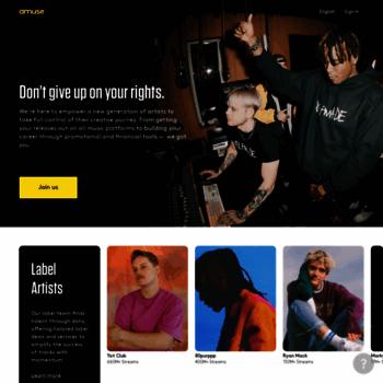 amuse io at WI  Digital music distribution company - Amuse