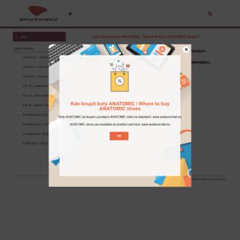 Anatomicfootwear.cz thumbnail