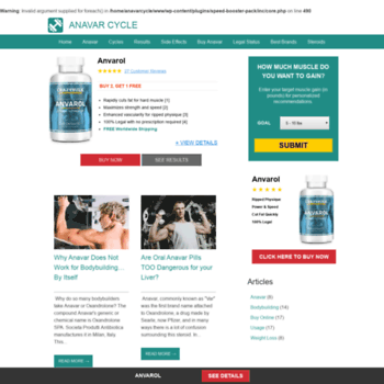 anavarcycle com at WI  Anavar Cycle | Results and Reviews of Anavar