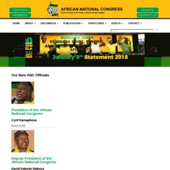 Anc.org.za thumbnail