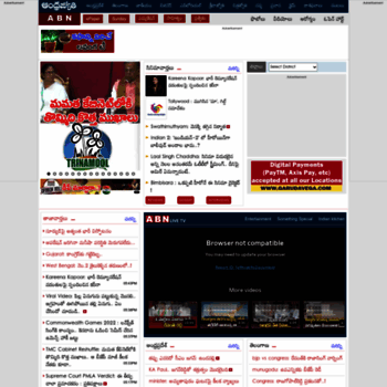 andhrajyothy com at WI  Andhrajyothi for Latest Telugu News