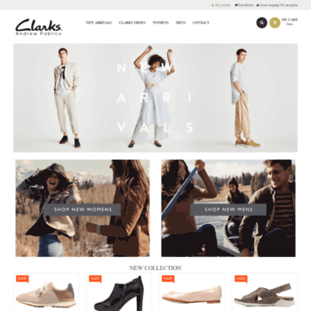 at WI. Andrew Pablico ~ Clarks Shoes