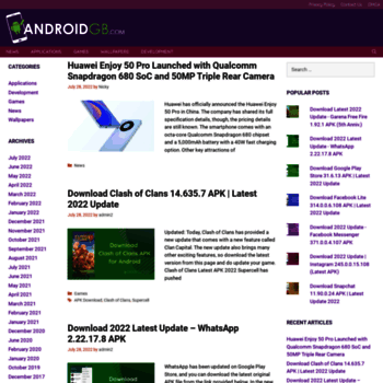 androidgb com at WI  Latest Android News, Phones, Apps