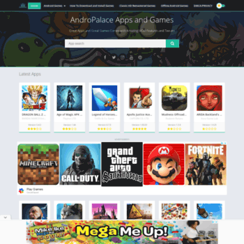 andropalace org at WI  AndroPalace - Android High End Games