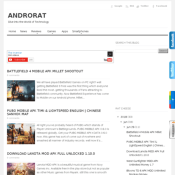 androrat com at WI  Androrat | Download Android Paid and