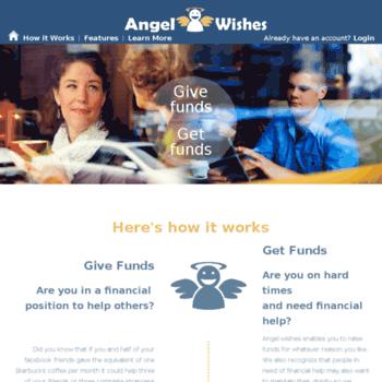 Angelwishes.net thumbnail