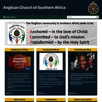 Anglicanchurchsa.org thumbnail