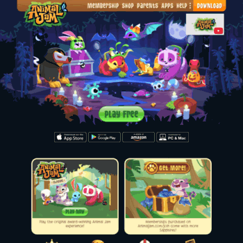 animaljam com br at WI  Animal Jam | Fun Online Animal Game