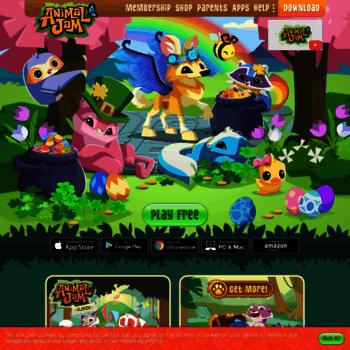 animaljam com at WI  Animal Jam   Fun Online Animal Game