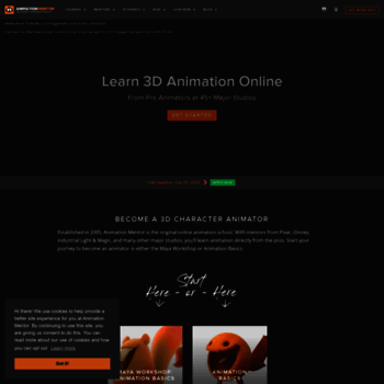 animationmentor com at WI  The Online Animation School | Animation