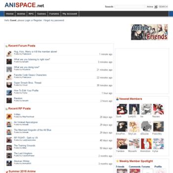 Anispace.net thumbnail
