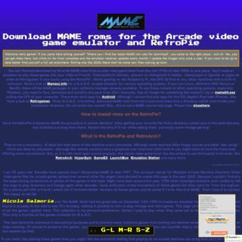 ankman de at WI  MAME roms download, also for the RetroPie