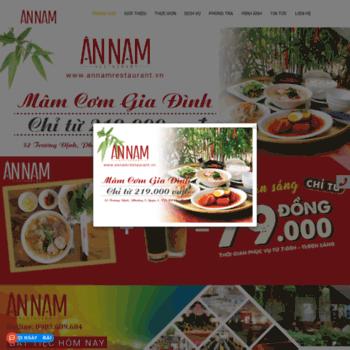 Annamrestaurant.vn thumbnail