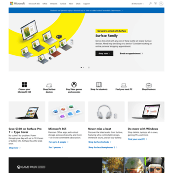f8f266467512 answerdesk.com at WI. Microsoft Store Online - Welcome