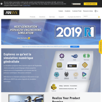 ansys fr at WI  Engineering Simulation & 3-D Design Software