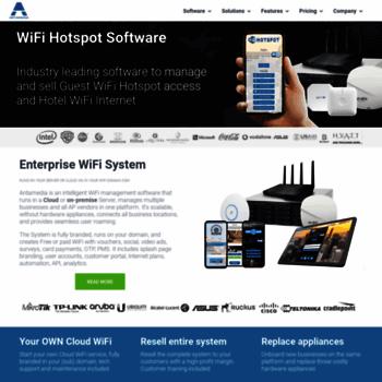 antamedia com at WI  HotSpot Software, Hotel WiFi, Guest