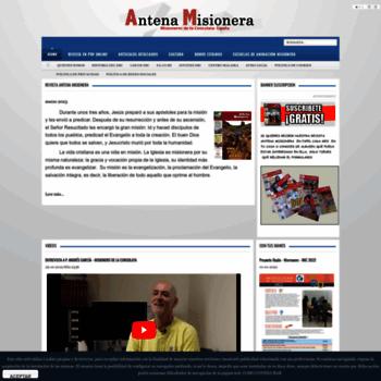 Antenamisionera.org thumbnail