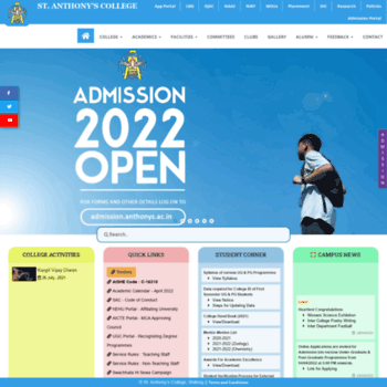 anthonys ac in at WI  St  Anthony's College