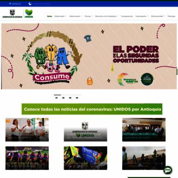 Antioquia.gov.co thumbnail