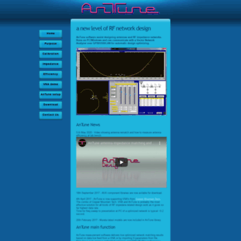 Antune.net thumbnail
