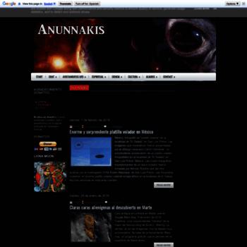 Anunnakis.es thumbnail