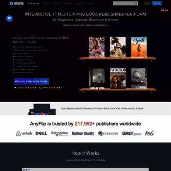 anyflip com at WI  Free Flip Book Maker