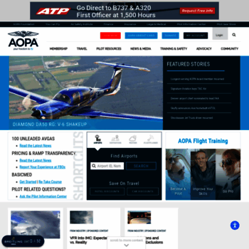 Aopa.org thumbnail