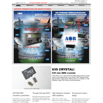 aorja com at WI  AOR,LTD  Tokyo, Japan Home Page