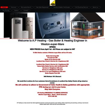 Ap-heating.co.uk thumbnail