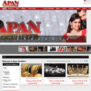 Apanjewellers.com.bd thumbnail