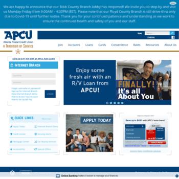 Apcu Com At Wi Atlanta Postal Credit Union Home