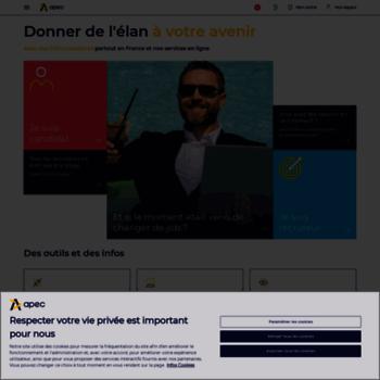 f47c5e650a5 apec.fr at WI. Apec.fr - Portail - Accueil - Recrutement et offres d ...