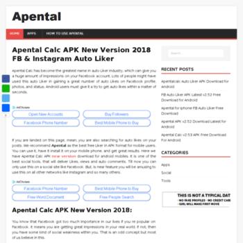 apental org at WI  Apental Calc APK New Version 2019 Free