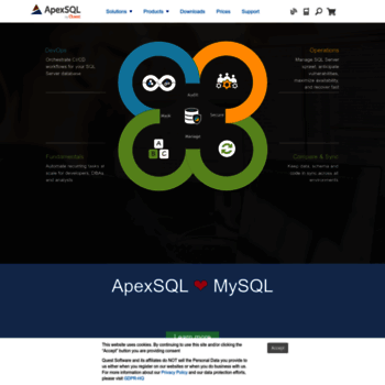 apexsql com at WI  SQL Server tools for DBAs and developers