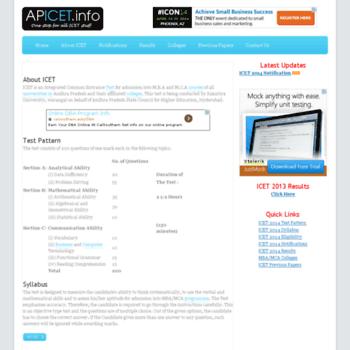 Apicet.info thumbnail