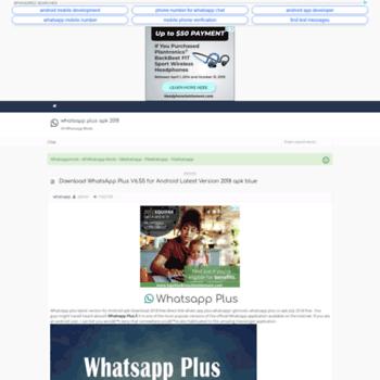 gbwhatsapp plus apk download v6 55