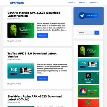 apkfolks com at WI  APKFolks - Download All Latest Mod APK's
