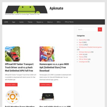 apkmate.com at WI. Apkmate – Download Mod ed Pro Games ... on mod ash, mod games, mod art,